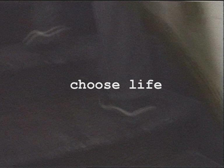 Izaberite život, frejm iz videa